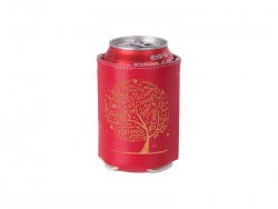 PU Can Cooler (Red) MOQ: 500