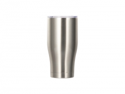 28OZ/850ml Stainless Steel Tumbler (Silver)