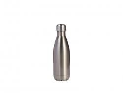 12oz/350ml Stainless Steel Cola Bottle (Silver)
