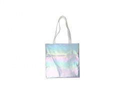 Gradient Shopping Bag (Light Blue,34*36cm)