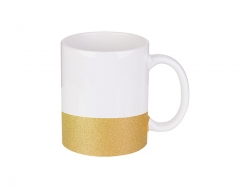 Caneca Base Colorida 11oz/330ml (Dourado)