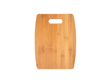 Arc Shaped Bamboo Cutting Board (30*22.86*1.1cm)  MOQ:1000pcs