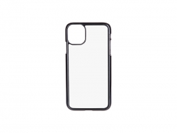 iPhone 11 Cover (Plastic, Black)