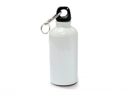 500ml Aluminium Water Bottle (White)