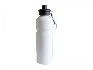 750ml Alluminum Water bottle (White)
