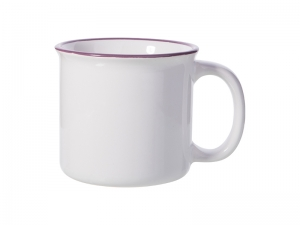 10oz/300ml Ceramic Enamel Mug (PL)