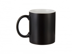 11oz Color Changing Mug (Black, Semi-Glossy)