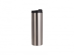 16oz/500ml Sublimation Stainless Steel Flask (Silver)