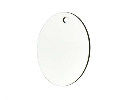 Oval Hardboard Ornament