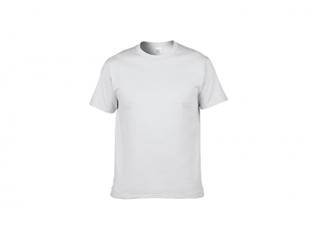 Cotton T-Shirt-White