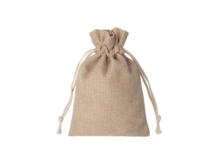 Sublimation Burlap Drawstring Bag(16*23cm)