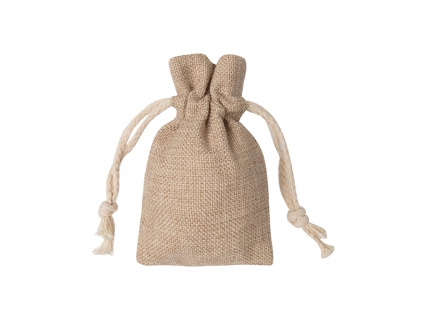 Sublimation Burlap Drawstring Bag(9*14cm)