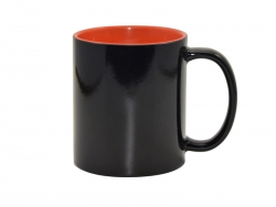 11oz Black Magic Mug (Inner Orange)