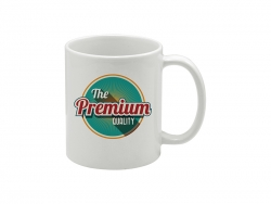11oz White Photo Mug-Grade AA