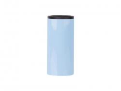 12oz/350ml Stainless Steel Skinny Can Cooler(Blue)