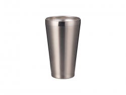 15oz/450ml Stainless Steel Tumbler w/o Lid (Silver)