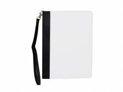 Rotatable iPad Air 1/2 Case with Strap(Black)