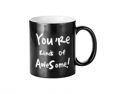 11oz Engraving Color Changing Mug (Awesome Motto)