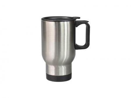 汽车杯_14OZ银色汽车杯-201钢 - 专业的数码印制产品供应商-BestSub(百赛)