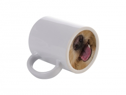 11oz Funny Nose Ceramic Mug (Dog Tongue)