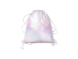 Gradient Drawstring Backpack (Light Purple,33*40cm)