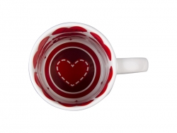 11oz Motto Mug (I LOVE YOU, Red)