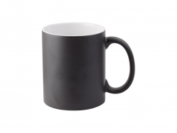 Sublimation 11oz Color Changing Mug (Black Matt)