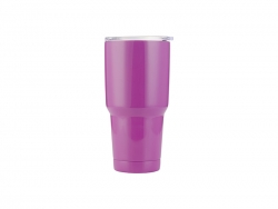 30oz Stainless Steel Tumbler(Purple)
