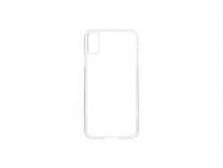iPhone X Cover (Plastic, Clear)