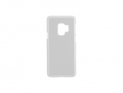 Samsung Galaxy S9 Cover (Plastic, White)