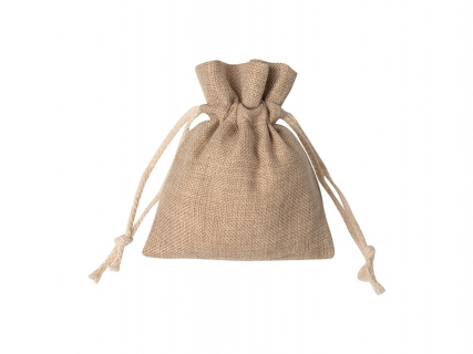 Sublimation Burlap Drawstring Bag(12*17cm)