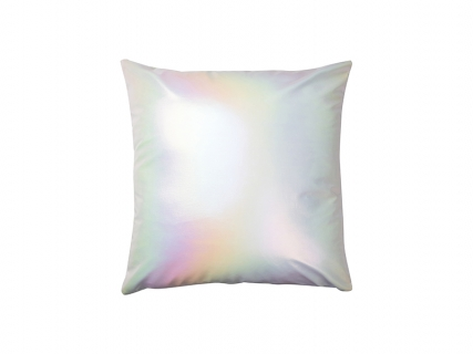 Gradient Pillow Cover (White, 40*40cm)