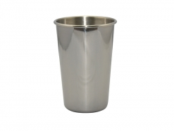 17oz/500ml Stainless Steel Tumbler (Silver)