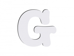 Sublimation HB Letters -G (10*10cm)