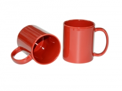 11oz Full Color Mug(Glossy, Red)