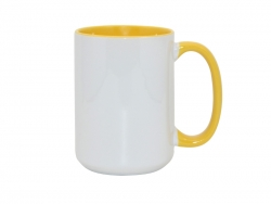 15oz Inner Rim Color - Yellow