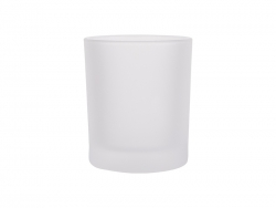 8oz Frosted Glass Mug