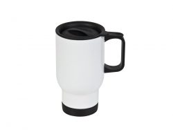 14oz Stainless Steel Mug -Full White(Higher Quality)