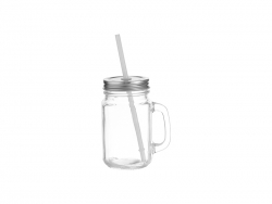 12oz Mason Jar(Square Clear, 350ml)