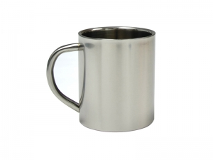 300ml Double Walled Stainless Steel Mug