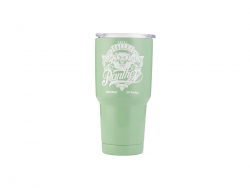 30oz/900ml UV Stainless Steel Tumbler (Green)