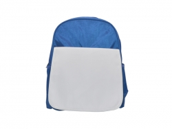 Sublimation Blue Kids School Bag