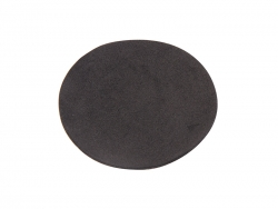 Adhesive black mat for Aluminium bottles
