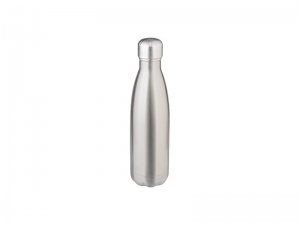 17oz/500ml Stainless Steel Coka Shaped Bottle(Silver)