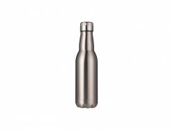 16oz/500ml Stainless Steel Beer Bottle (Silver)