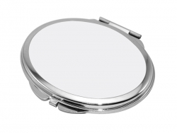 Oval Shaped Compact Mirror(6.3*7.2cm)