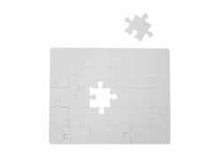 30 Pieces Glossy Sublimation Paper Puzzle (24*19cm)