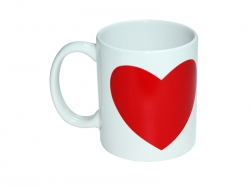 11oz Heart Color Change Mug