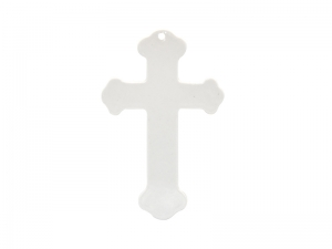 Ceramic Cross Ornament