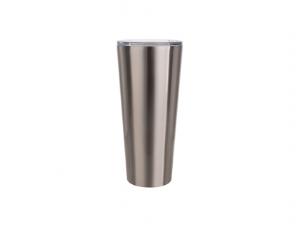 33oz/1000ml Stainless Steel Tumbler (Silver)
